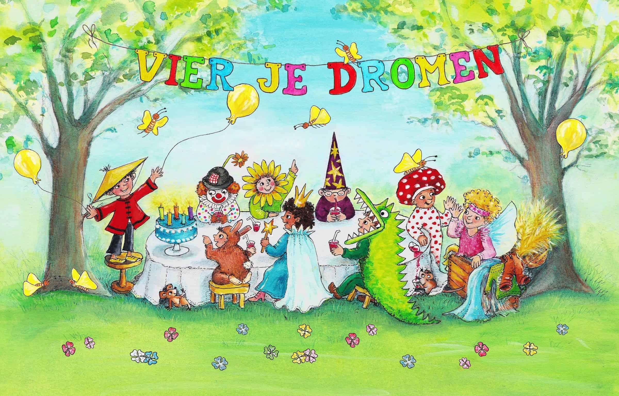 Vier je Dromen verkleedkisten voor onvergetelijke kinderfeestjes